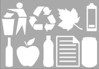 Recycling Symbols - A4 Sheet