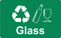 Recycling Sticker - Glass