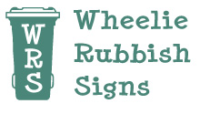 Recycling Sticker - Food Waste - Wheelie Rubbish Signs